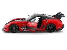 Ferrari 599XX EVO #11 Elite Edition 1/18 Red (Hot Wheels)