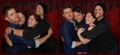 Misha's & Jensen's faces in these - LMABO!!! <<< Jensen's not taking any of Misha's shit right now.