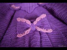Вяжем детский кардиган / кофту ♥ Часть 2 рюши и рукава ♥ Вяжем крючком ♥ Wild Rose ♥ - YouTube