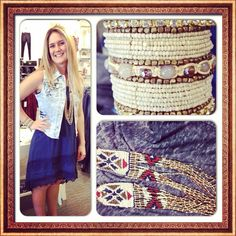 Just in, a new denim vest at #maurices #cuffbracelet #first15 #fashionista #ootd #workwhereyoulovetoshop