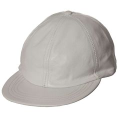 4e282f7562ce7 Capas Lambskin Adjustable Baseball Cap