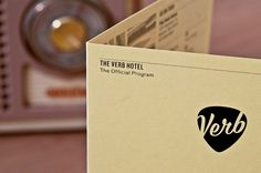 GBH's branding for the verb hotel boston