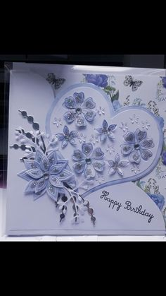 Hobbies And Crafts, Crafts For Kids, Chloes Creative Cards, Stamps By Chloe, Sue Wilson, Die Cut Cards, Butterfly Cards, Heart Cards, Anniversary Cards