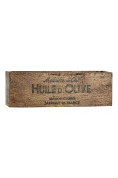 Boîte en bois   H&M
