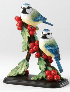 Border Fine Arts A23794 Blue Tit on Hawthorn Bird Figurine NEW IN BOX 15822 | eBay