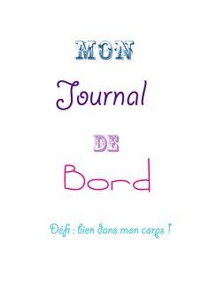 DIY : journal de bord d'une bonne reprise en main ! Flylady, Planning Sport, Encouragement, Bullet Journal, Messages, Lettering, Sports, Diy, Bujo