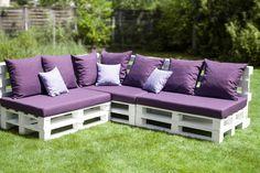 DIY Outdoor Couch aus Euro-Paletten http://blog.wohn-guide.de/diy-outdoor-couch/