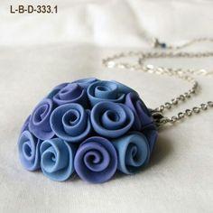 Polymer necklace: