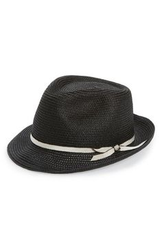 f6064cd9067 Mr. Kim  Tony  Woven Fedora available at  Nordstrom Nordstrom