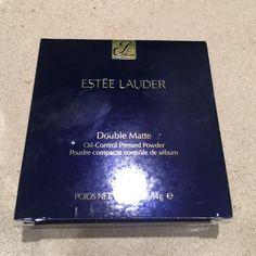 Estee Lauder double matte pressed powder Oil control pressed powder in medium Estee Lauder Makeup Face Powder
