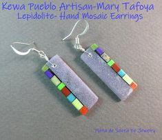 Vintage Turquoise, Turquoise Stone, Turquoise Jewelry, Pueblo Pottery, Stone Mosaic, Lavender Color, Purple Grey, Santa Fe, Stone Jewelry