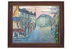 Oil Painting, Streets of Paris on OneKingsLane.com