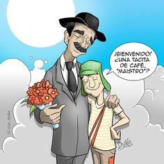 Si algo nos ha dejado #México, como herencia a todos los hispano parlantes, son sus innumerables y muy queridos personajes. #RubenAguirre interpretó a uno de ellos, uno de los más románticos y sabios. El gran #ProfesorJirafales. QEPD