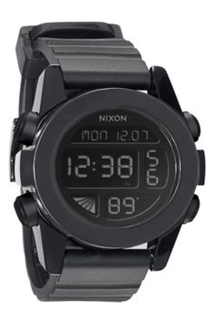 2a869ba9f9c07 Nixon  The Unit  Round Digital Watch, 44mm gifters.com digital watches for