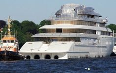 Project Azzam: World's Largest Yacht Owned by Saudi Royal Family (Photos & Video)