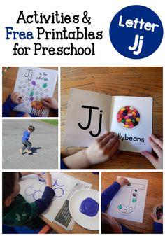 Letter J Activities for Preschool