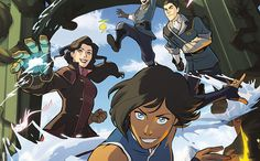 'The Legend of Korra: Turf Wars' graphic novel coming in June 2017 *Fangirl screaming*