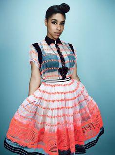 "LIANNE LA HAVAS via W Magazine's ""New Artists in 50's fashion"" (She ain't NEW! haha. She's dope!)"
