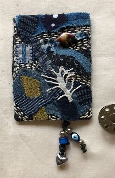 susan ball faeder: 100 days of amulets – Okan Arts Japanese Textiles, Japanese Fabric, Book Cover Design, Book Design, Design Design, Yale School Of Art, Hemp Leaf, Japanese Graphic Design, Quilt Festival