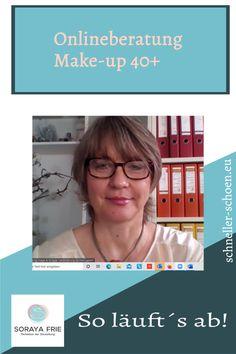 """So läuft eine Online- Make-up Beratung ab Getreu dem Motto: """"Jede Frau will schön sein, Make- up hilft Ihr dabei!"""" haben wir uns in das Abenteuer Online-Make-up Beratung begeben. In ihrer einstündigen online Kurs Make-up 40 hat Frau Friedsam auf einfache und unkomplizierte Art und Weise ihre individuelle Make-up- Technik kennengelernt.Make-up.#Augen-Make-up Anleitung einfach#Augenbrauen formen#Augenbrauen zeichnen Concealer, Professionelles Make Up, Make Up Anleitung, Neue Outfits, Motto, Lifestyle, Blog, Mary Kay Products, Drawing Eyebrows"""