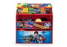 Nickelodeon Organizer Toys Storage Multi Bin  Paw Patrol Book Kids Toddler Chest