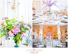 Spring color themed wedding!