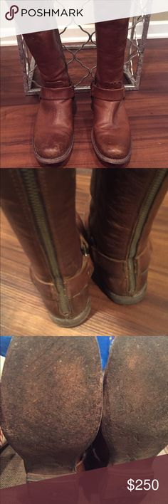 Authentic Frye Riding Boots. Size 8. Gently worn Authentic Frye Riding Boots. Gently worn 5 times and in excellent condition. Size 8 extended calf. Frye Shoes