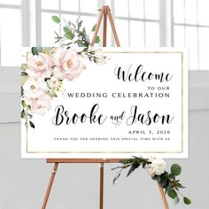 #weddingwelcomesign #welcomeweddingsign #welcomesign #weddingsign #wedding #weddingsigns #floralwelcomesign #weddingdécor #weddingposter #weddingreception #printable #sign #signs #personalized #blushwedding #blush #roses #pink #greenery #diywedding #printables
