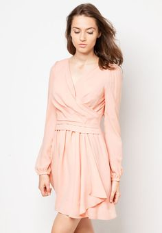 BREAD N BUTTER Wrapped Long Sleeves Dress 長袖連身裙 Bread N Butter, Wrap Dress, Dresses With Sleeves, Long Sleeve, Fashion, Dress, Gowns With Sleeves, Moda, Sleeve Dresses