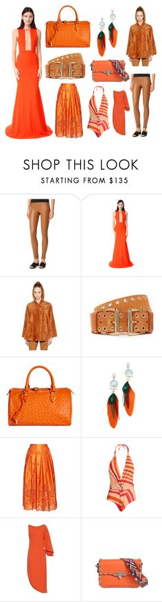 """Weekend Fashion Mania"" by cate-jennifer ❤ liked on Polyvore featuring Helmut Lang, Alex Perry, Drome, B-Low the Belt, Brooks Brothers, Gas Bijoux, Rochas, Katie Eary, Osman and Valentino"