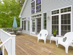 Located within a mile of Long Sands Beach, this light-filled home built in 2006 is the perfect family homestead or getaway retreat. The lush green lawn and large deck are designed for entertaining w/ family & friends after a day at the beach. Inside, the wall of windows brings the outside in. Thoughtfully architected with an open floor plan, spacious 1st flr bdrm, 1st flr full bth, and 1st flr laundry. The dry finished daylight basement offers an ideal space for exercising, entertaining, and ove