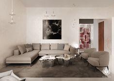 tolicci, luxury modern living room, italian design, interior design, luxusna moderna obyvacka, taliansky dizajn, navrh interieru Modern Living, Couch, Living Room, Interior Design, Luxury, Furniture, Home Decor, Nest Design, Settee