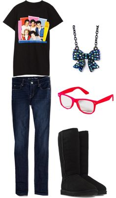 """""""One Direction Outfit :p"""" by sydneybrooks ❤ liked on Polyvore"""