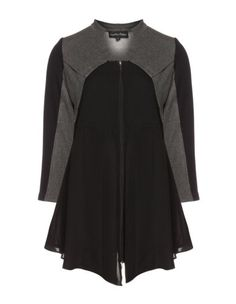 Cotton mix top by Jean Marc Philippe. Shop now: http://www.navabi.us/jackets-jean-marc-philippe-cotton-mix-top-black-grey-21224-2414.html?utm_source=pinterest&utm_medium=social-media&utm_campaign=pin-it