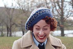 Vintage Mens Tam O Shanter Hat   Bonnet Scotland 4fa2b27293e