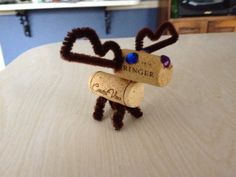 Wine Cork Moose