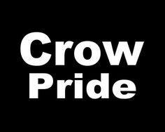 Crow Pride Decal, Car Decal, Vinyl Sticker, Laptop Sticker, Crow Decals, Crow Indians, Native American, Vinyl Decal, Decals