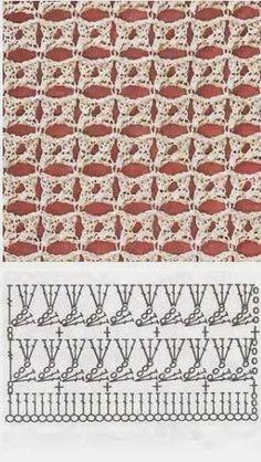 Las mejores puntadas crochet para tu colección * 25 motivos * - Patrones de tejido