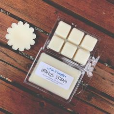 Orange Dream Wax Melts - Soy Wax Melts, Wax Tarts, Orange Vanilla – A to Z Candles