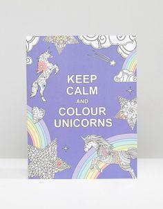 Image 1 - Livre de coloriages Keep Calm and Colour Unicorns