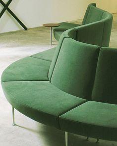 Sectional modular sofa LOBBY PLUS by @innointerior