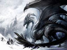 Fantasy Dragons Art