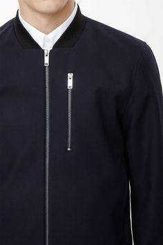 Zip pocket cotton jacket