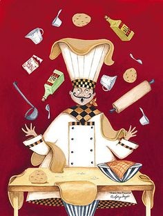 Art deco  cuisiniers  et maitres d'hotel by Sydney Wright