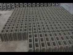How to Make Concrete Blocks - YouTube Construction Business, Video Production, Concrete Blocks, Youtube, How To Make, Youtubers, Youtube Movies