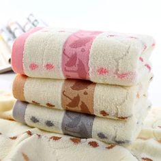 Cotton Jacquard Bath Towel Black Thread, Cotton Towels, Bath Towels, Different Colors, Things To Come, Fabric, Tejido, Tela, Cloths
