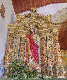 Side altar - Igreja Matriz de Vale das Fontes