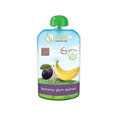 Goodness Gracious Organic Banana Plum  Quinoa Puree 140g  Pack of 4 *** Check out the image by visiting the link.