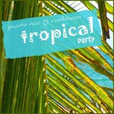 Tropical Theme Party Ideas