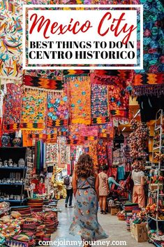 Guide to the best things to do in Mexico City's Centro Historico. This includes not to be missed spots and experiences. #mexico #mexicocity ##mexicotravel | Mexico City Guide | Historical Center of Mexico City